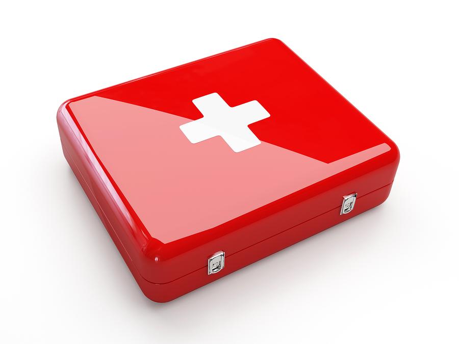 emergencies first aid kit