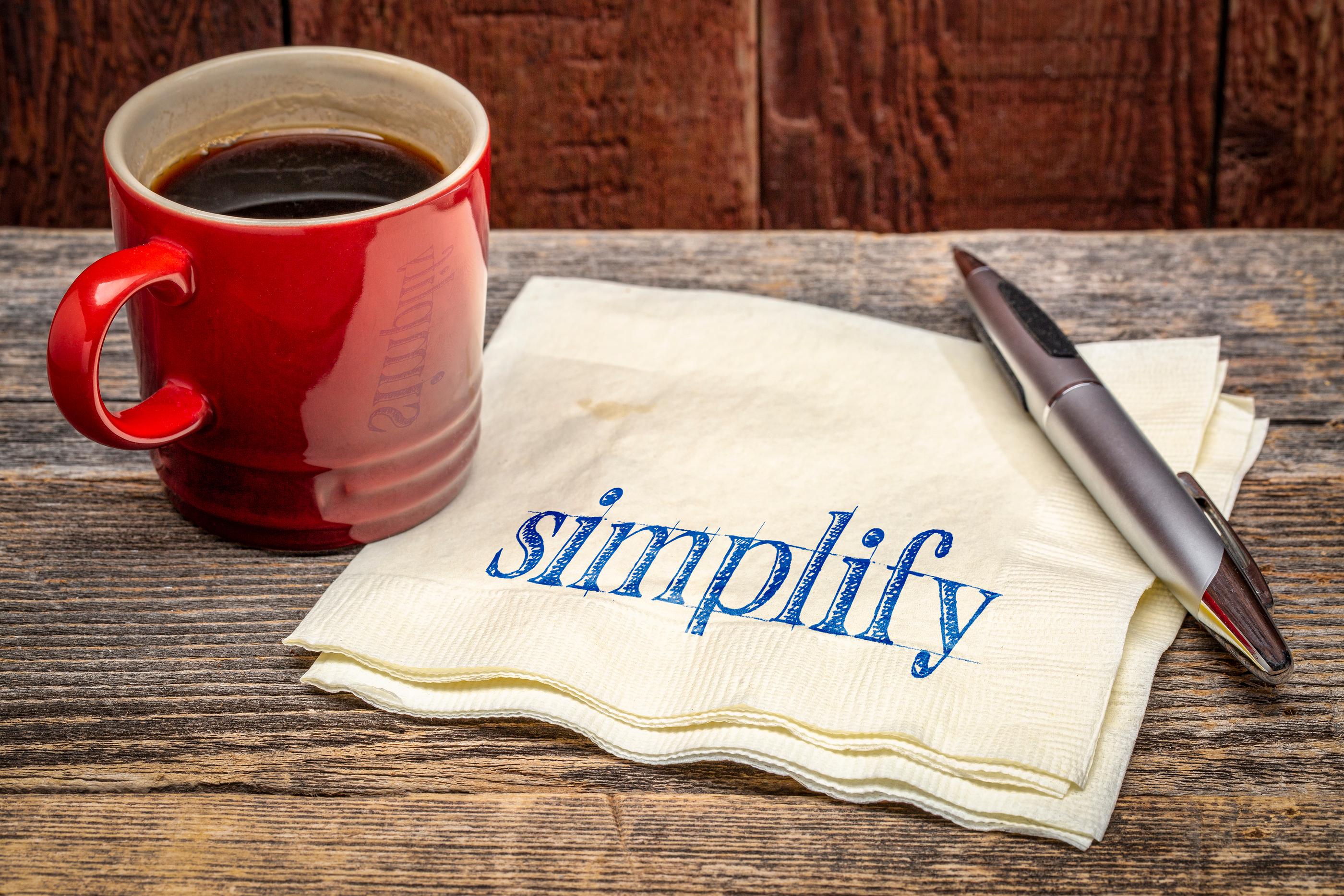 Decluttering, A Simple Plan