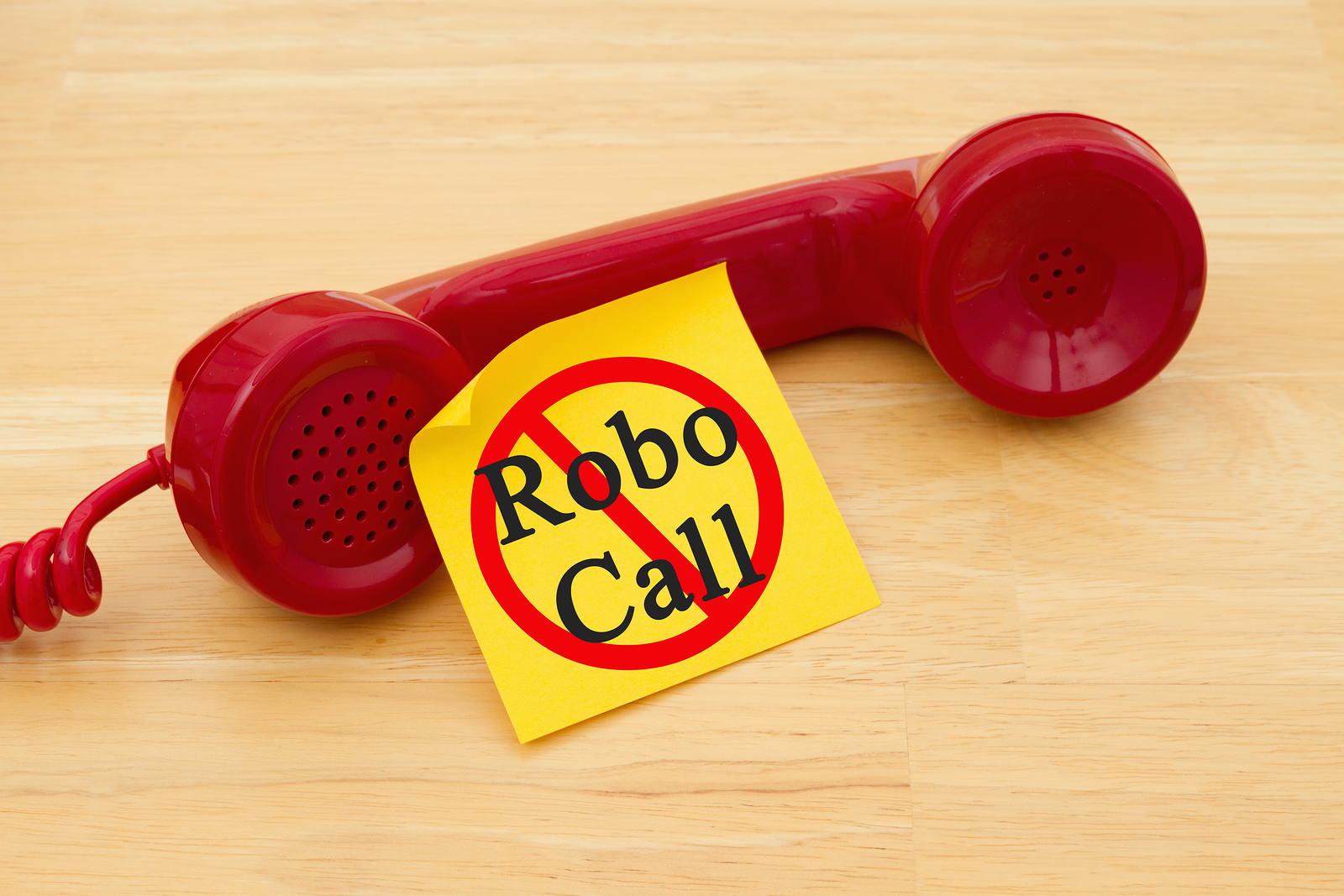 Stop robocalls and texts