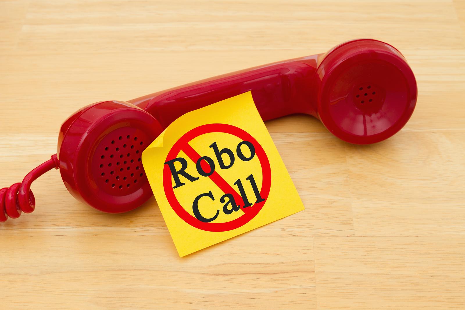 Stop robocalls and texts