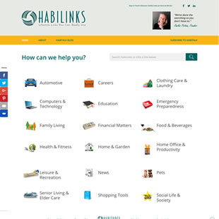 HabiLinks Home Page